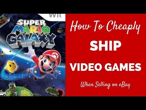 How to Ship on eBay for Cheap - Shipping Clothing : Video Games & Accesories