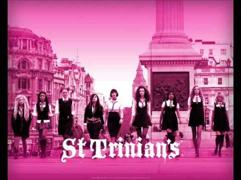 St Trinians Theme - Girls Aloud - On Screen Lyrics