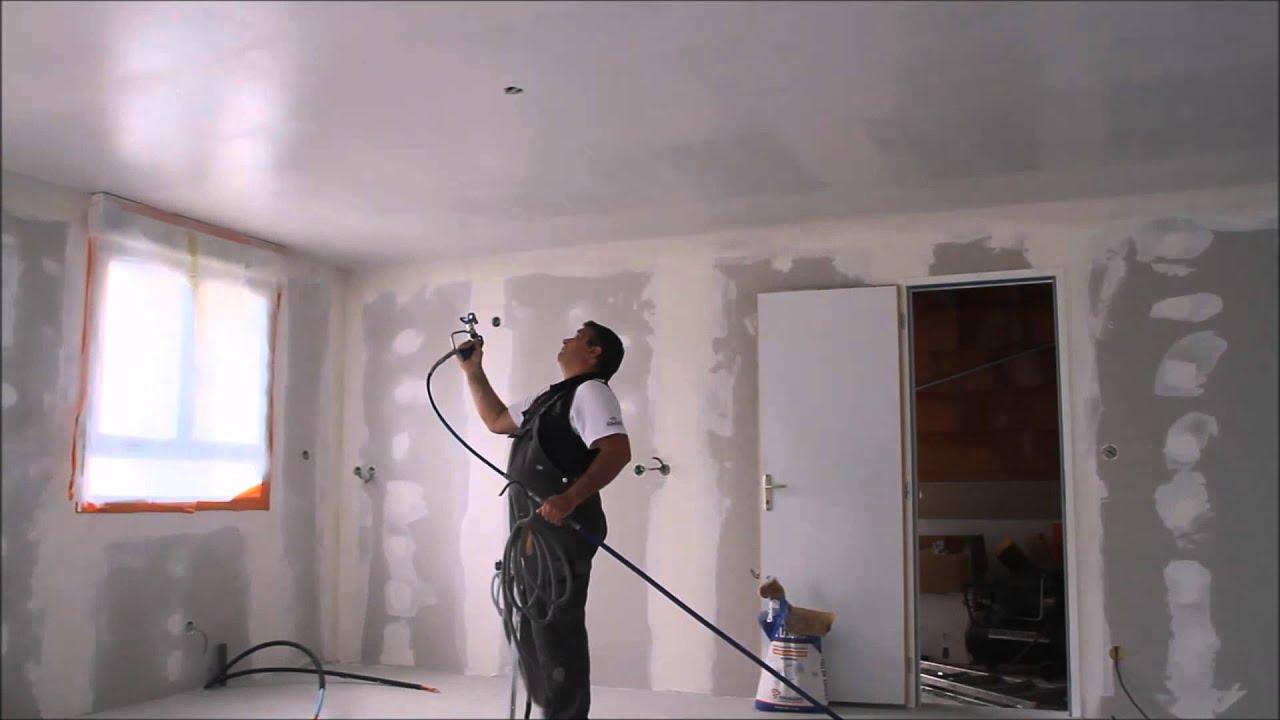 Renovies Services Comment Peindre Et Enduire Rapidement