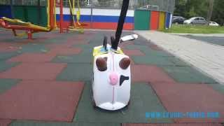 Детский чемодан Trunki Frieda(Видео обзор оригинального детского чемодана на колесах Trunki Frieda (Корова Фрида). Производитель - ..., 2014-11-12T13:34:36.000Z)