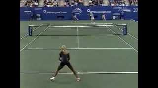 2002 US Open: Serena Williams quarterfinal win