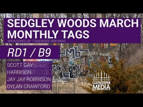 Sedgley Woods Monthly Tags | RD1, B9, Feature Card | Gay, Harrison, Robinson, Crawford