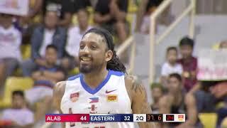 San Miguel Alab vs Hong Kong Eastern  | CONDENSED HIGHLIGHTS | 2018-2019 ASEAN Basketball League