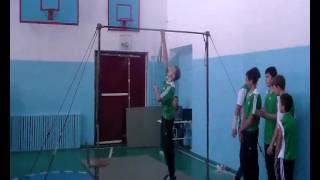 неделя гимнастики Запорожская средняя школа