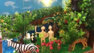 How To Make A Miniature Garden Of Eden / Cara Buat Miniatur Taman Eden