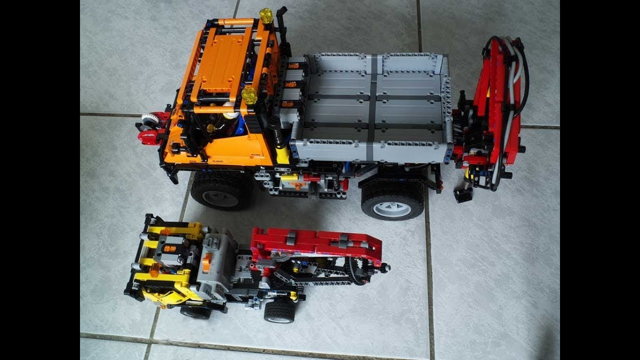 lego technic 8110 unimog pf motorize rc with auto valve. Black Bedroom Furniture Sets. Home Design Ideas