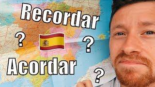 Recordar ou Acordarse.. Quelle différence ? Se rappeler, se souvenir en espagnol 🇪🇸