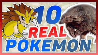10 Real Life Pokemon