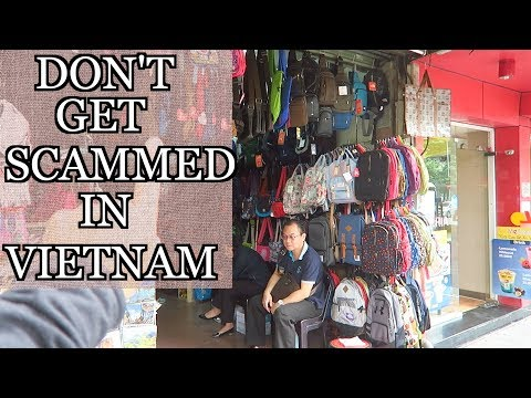 Shopping in the OLD QUARTER Hanoi Vietnam TIPS on avoiding S
