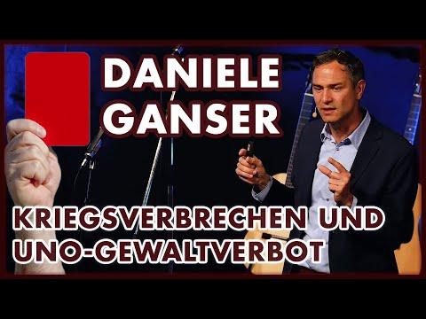 Dr. Daniele Ganser: Kriegsverbrechen & UNO-Gewaltverbot (Neustadt 8. Juni 2019)