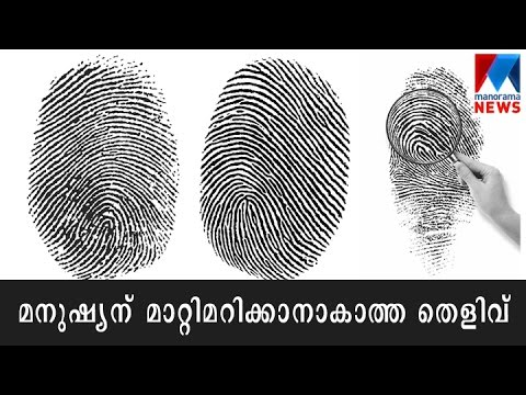 Download Fingerprint - The most important part of a forensic investigation | Manorama News