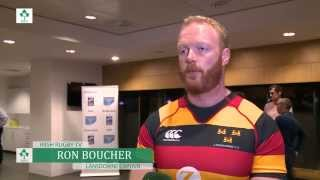 irish rugby tv ron boucher and lansdowne ready for division 1a final