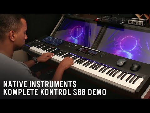 Native Instruments Komplete Kontrol S88 Demo