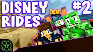 Riding Disney Rides in Minecraft! - Magic King Jack (Part 2)