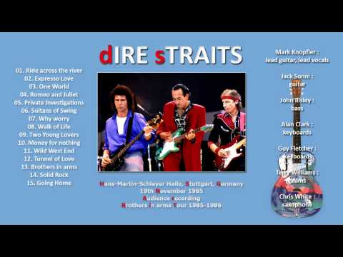 "Dire Straits ""Tunnel of Love"" 1985 Stuttgart [AUDIO ONLY] one of the best versions!"