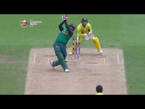 Tamim's super six! - #AUSvBAN Nissan Play of the Day #CT17