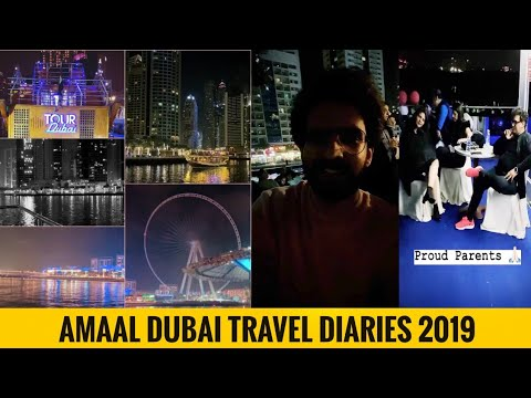 Amaal Mallik Live At Marina Yacht Club – Dubai Travel Diaries || SLV2019