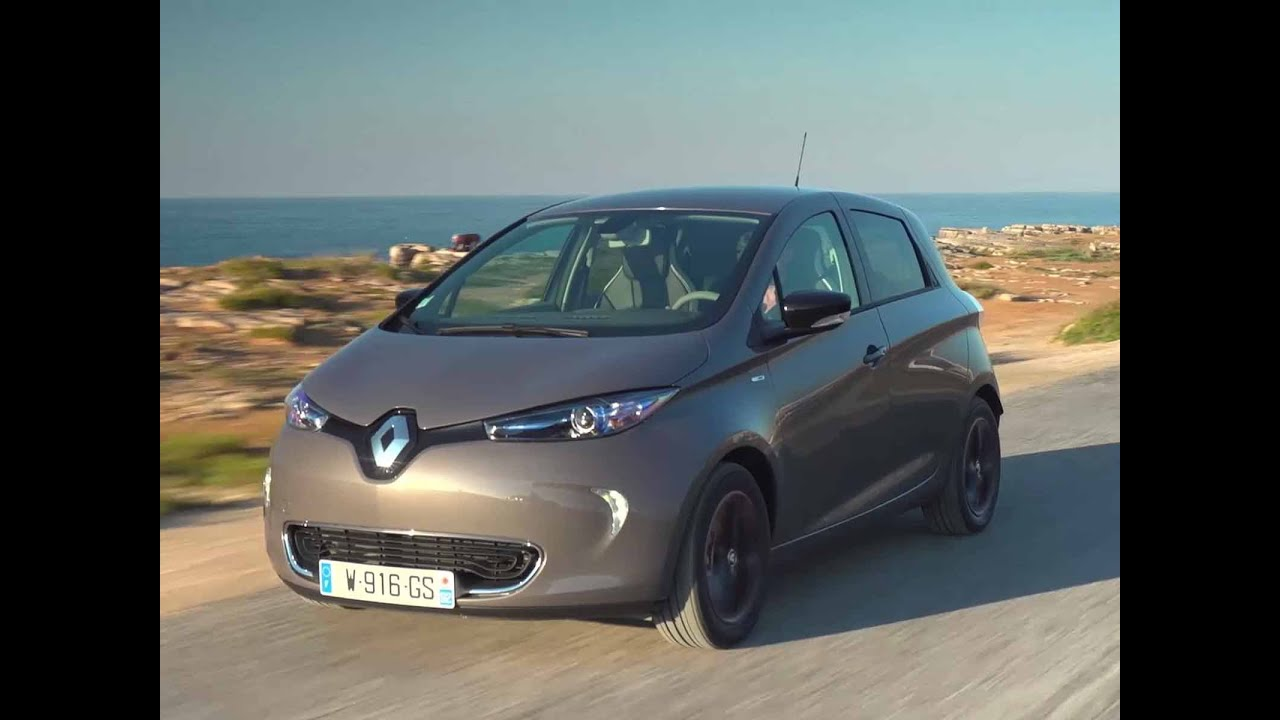 renault zoe ze40 1er essai en vid o youtube. Black Bedroom Furniture Sets. Home Design Ideas