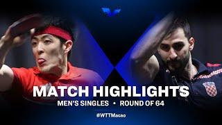 Qiu Dang vs Andrej Gacina | WTT Star Contender Doha 2021 | Men's Singles | R64 Highlights