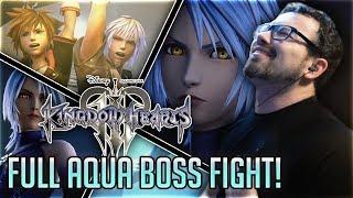 Download Video Kingdom Hearts 3 ▶ Full Aqua Boss Fight REACTION - NOMURA IS A SADIST!! MP3 3GP MP4