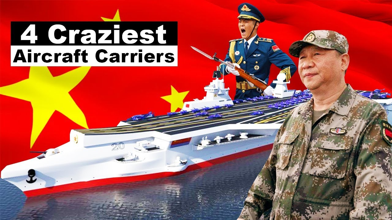 Bad News: China Will Soon Have 4 Craziest Aircraft Carriers