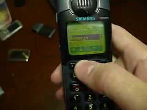 Collectible Handset's: Siemens S10-The First Mobile Phone With Color Screen