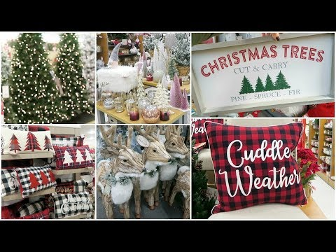 CHRISTMAS DECOR SHOP WITH ME AT HOMEGOODS, TJ MAXX, KOHLS + BATH AND BODY WORKS HAUL