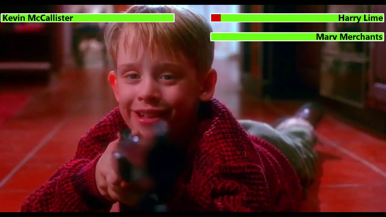 Download Home Alone (1990) Battle Plan with healthbars (Christmas Day Special)