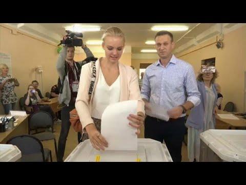 Стали известны предварительные результаты выборов в России…