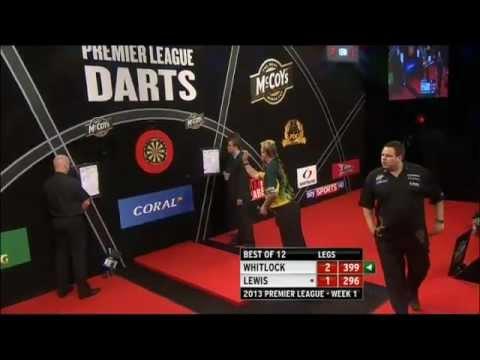 2013 Premier League Darts - Simon Whitlock vs Adrian Lewis - Week 1