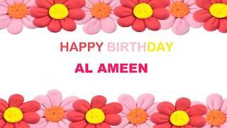 AlAmeen   Birthday Postcards & Postales - Happy Birthday