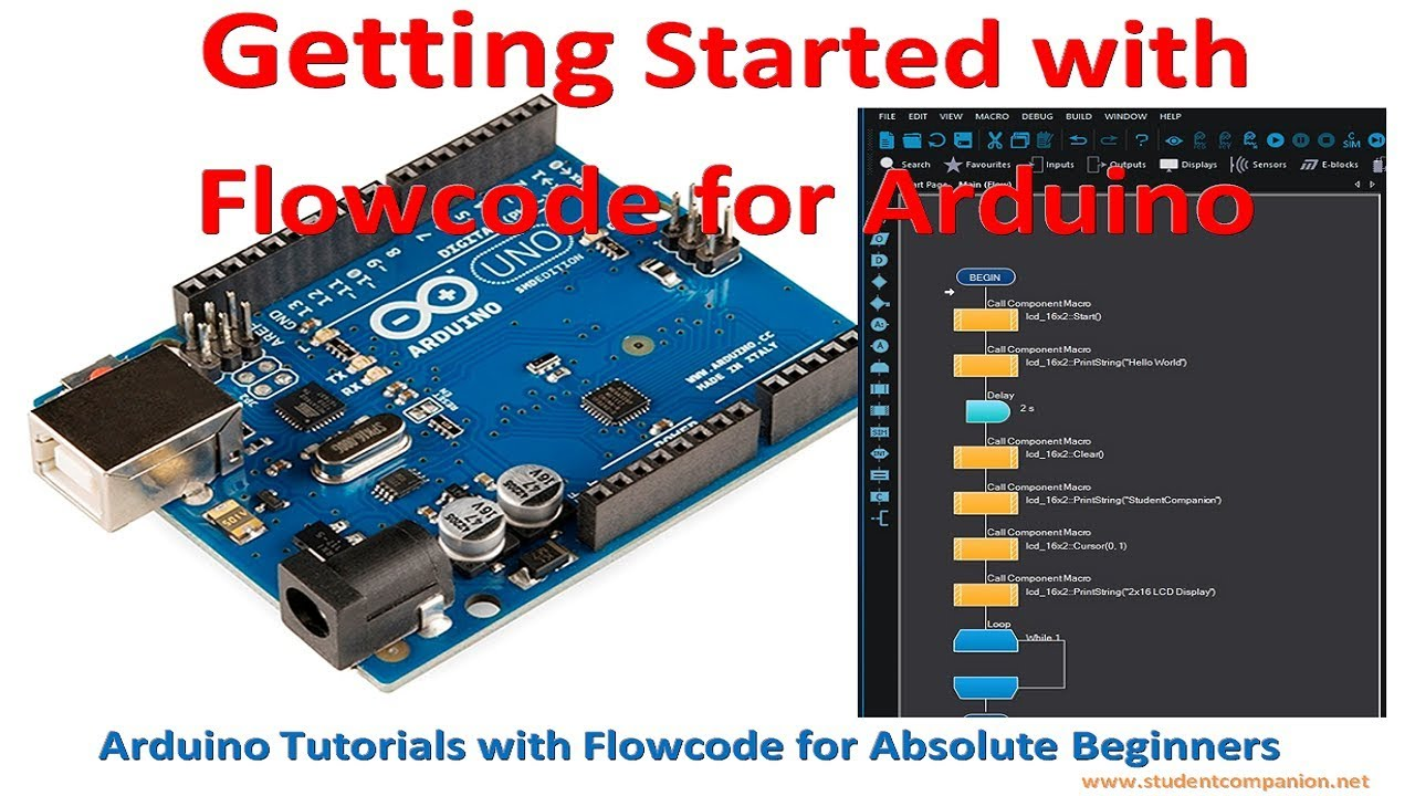 Getting Started with Flowcode for Arduino | StudentCompanion