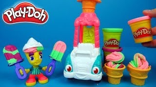 Play-Doh Town making Ice Cream | Fun toy for kids