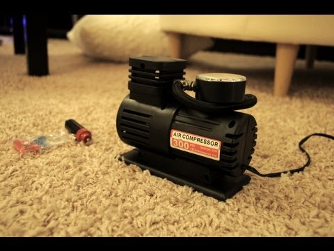 10$ 12v Air Compressor FAST Review / Safety & Project Instru