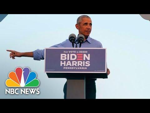 Live: Obama Campaigns For Biden In Florida   NBC News