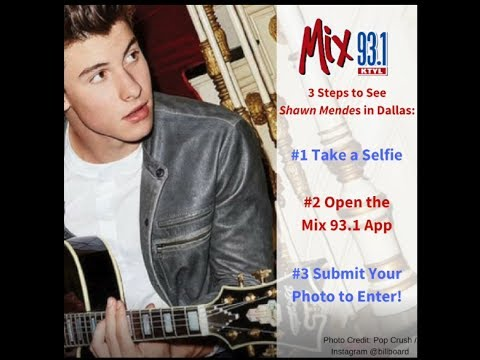 How to send mix 931 selfies and videos to win shawn mendes tickets how to send mix 931 selfies and videos to win shawn mendes tickets m4hsunfo