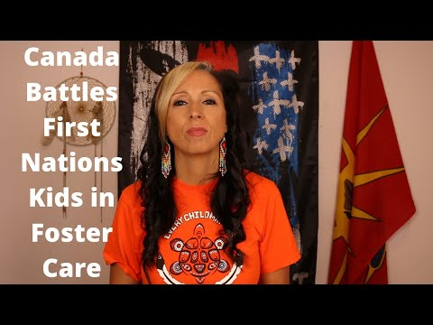 Canada Battles First Nations Kids In Foster Care