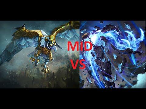 [Mid] Anivia vs Xerath - 13/8/2015 - Team minh hay qua troi