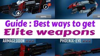 Nova Legacy guide : Best ways to get 3rd tier ELITE WEAPONS