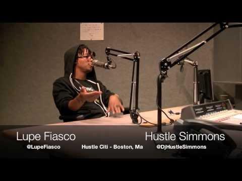 Hustle Simmons & Lupe Fiasco (Hustle Citi - Boston, Ma)