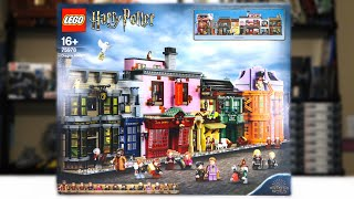 LEGO Harry Potter 75978 DIAGON ALLEY Review! (2020)