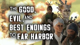 The Good, Evil, & Best Endings to Far Harbor - Fallout 4 Lore