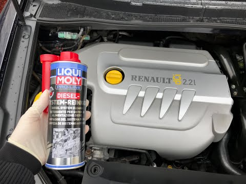Renault Vel Satis 2.2dCi Liqui Moly Injection Cleaner; Smoke Problem