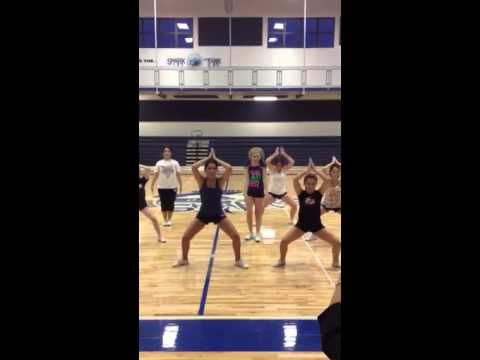 OHS Cheerleaders.