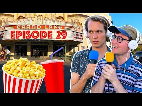 Podcast But At A Movie Theater