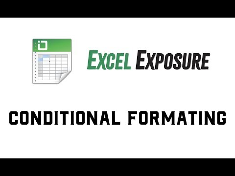 Video Lesson: Conditional Formatting in Excel - Excel Exposure