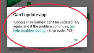 Fix Play Store Error || Can't Download App Problem Solve