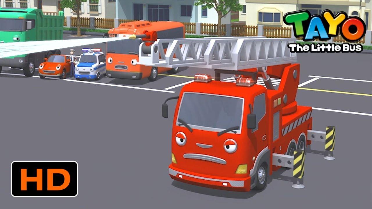 Tayo Bahasa Indonesia Spesial l #6 Bus merah Gani butuh bantuan! l Tayo Bus Kecil
