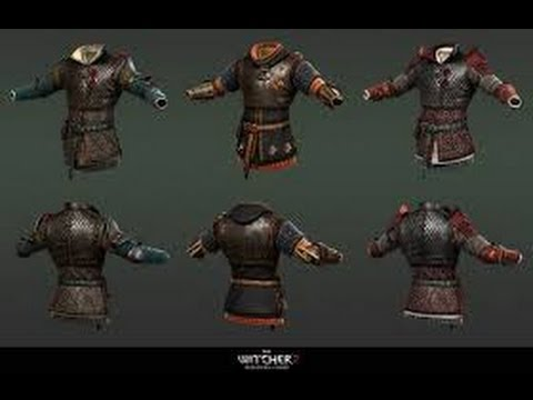 The Witcher 3, Location Diagram Enhanced Ursine Set - YouTube