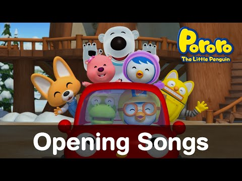 (EN)[The Little Penguin Pororo] S1~S5 Opening Songs
